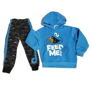 Other - cookie monster matching outfit set